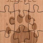 Puzzle jezevec